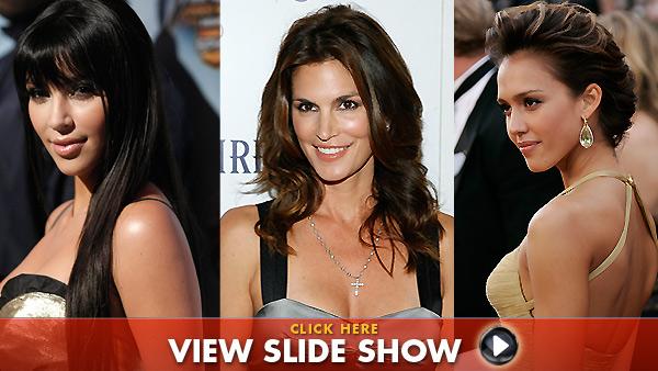 Slideshow: Hollywood celebs go au naturale
