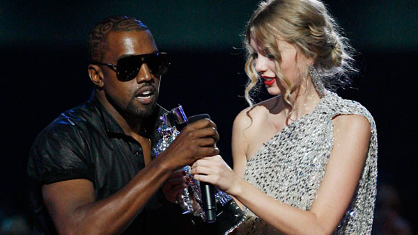 Taylor Swift beat out Beyonce for best female video. The 19-year-old was