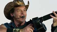 Ted Nugent calls Obama 'clueless, rookie president' (Photo courtesy of David Defoe / Flickr)