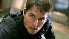Tom Cruise in a scene from 'Mission Impossible 3'. (Photo courtesy of Paramount Pictures)