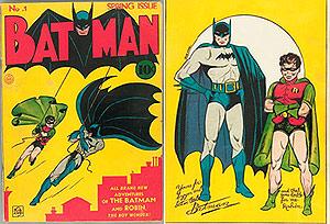 the first batman comic book Batman (DC)(03 - Post-Crisis) - Comic Book DB.