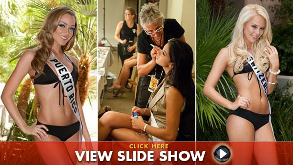 Miss Universe hopefuls try on swimsuits [Photos]