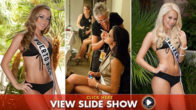 Miss Universe 2010 hopefuls get fitted for swimsuits in Las Vegas [Photos]